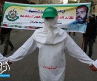 حماس تنظم فعالية جماهيرية في ذكرى استشهاد المفكر د. إبراهيم المقادمة/ تصوير: عطية درويش