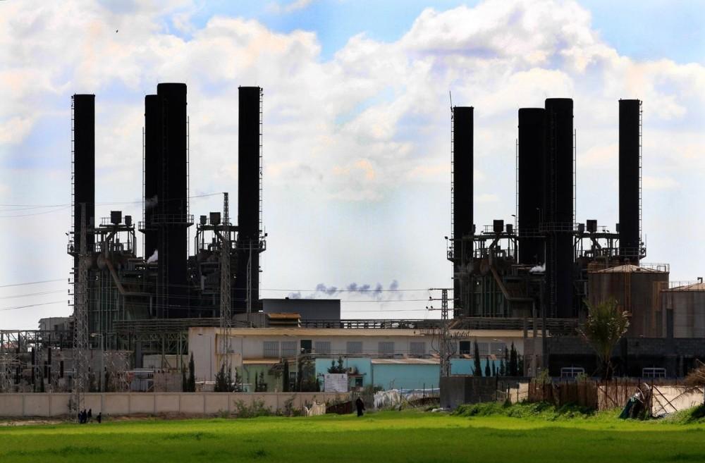 محطة توليد كهرباء غزة