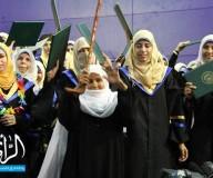 احتفالات تخريج كلية التربية من الجامعة الاسلامية بغزة - تصوير / أحمد خالد