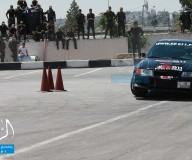الخليل تشهد الجولة الثالثة من سباق السيارات/ تصوير ريحان أبو عمر