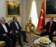 زيارة خالد مشعل واسماعيل هنية لتركيا ولقاء أردوغان
