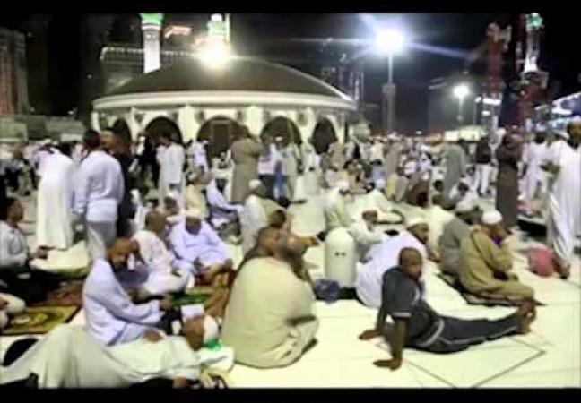 الأجواء في مكة المكرمة بعد وصول الججاج للديار الحجازية