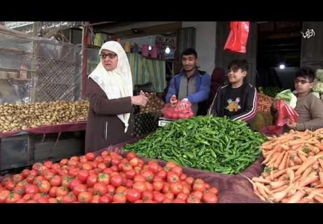 جولة تفقدية لوزارة الزراعة لمتابعة أسعار الخضروات في أسواق غزة.