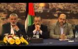 مؤتمر كلمة هنية والأحمد عن المصالحة