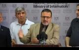 مؤتمر صحفي في وزارة الإعلام بغزة حول اطلاق مبادرة