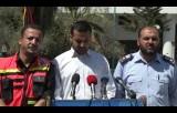 مؤتمر وزارة الداخلية حول الغارات (الإسرائيلية) وهدم المنازل على رؤوس ساكنيها