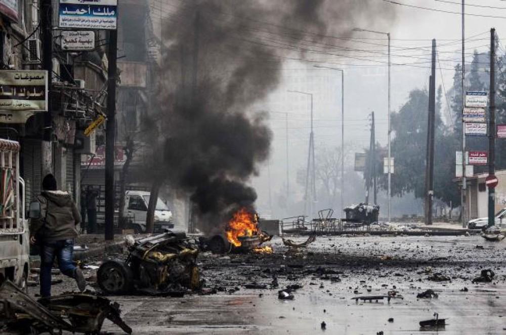 القصف السوري على المخيمات
