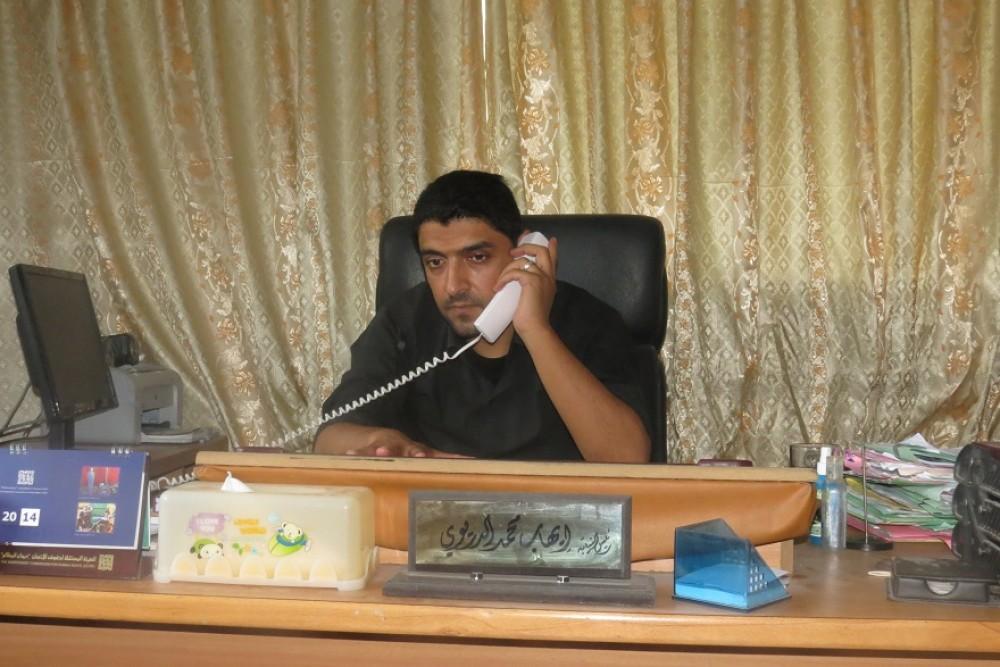 رئيس نيابة غزة الكلية  ايهاب الدريوي