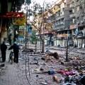 أحد شوارع اليرموك