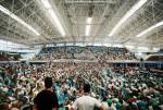 جانب من الحشد الجماهير في الجزائر