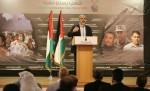 خالد مشعل خلال المؤتمر