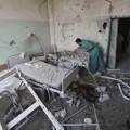 قصف الاحتلال مستشفى الدرة خلال العدوان