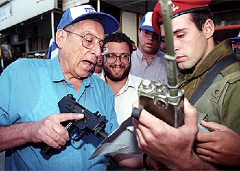 وزير السياحة الإسرائيلي رحبعام زئيفي