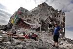 بيوت دمرها الاحتلال خلال العدوان الأخير