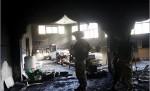 أحد المساجد التي أحرقها الاحتلال بالضفة المحتلة