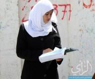 امتحانات الثانوية العامة في المحافظة الوسطى تصوير عطية درويش