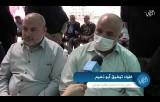 قيادة العمل الحكومي ووكلاء الوزارات يزورون بيت عزاء الفقيد القائد رمضان شلح في غزة.