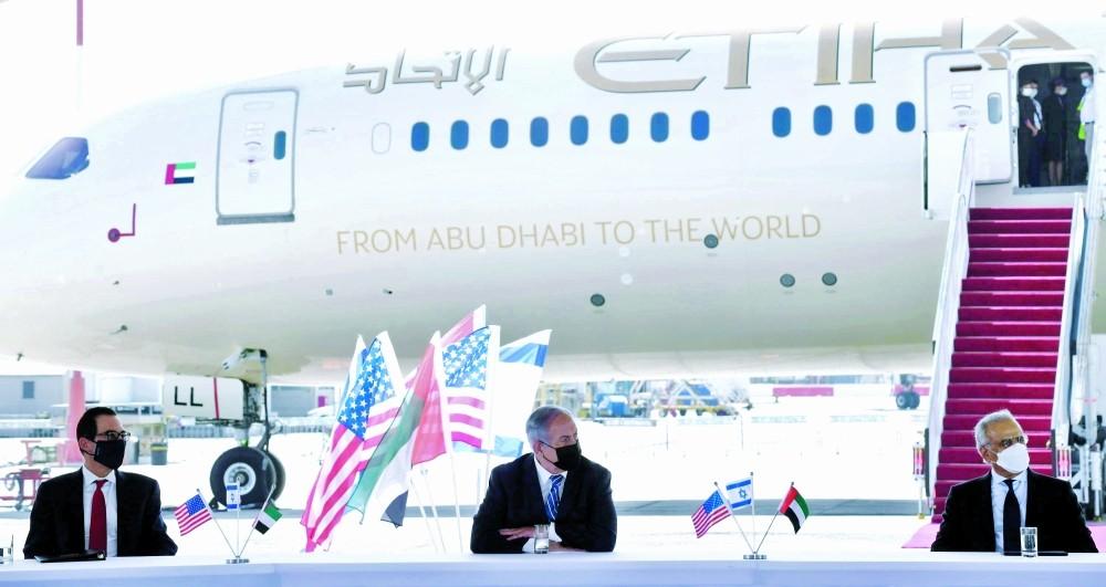 وكالة الرأي الفلسطينية - أول رحلة تجارية لشركة طيران ...