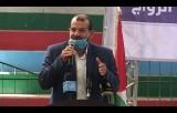 كلمة وكيل وزارة الرياضة أحمد محيسن خلال حفل قرعة القرض الحسن للمقبلين على الزواج