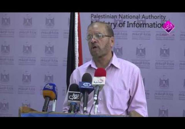 كلمة نائب رئيس سلطة الطاقة فتحي الشيخ خليل خلال برنامج لقاء مع مسئول