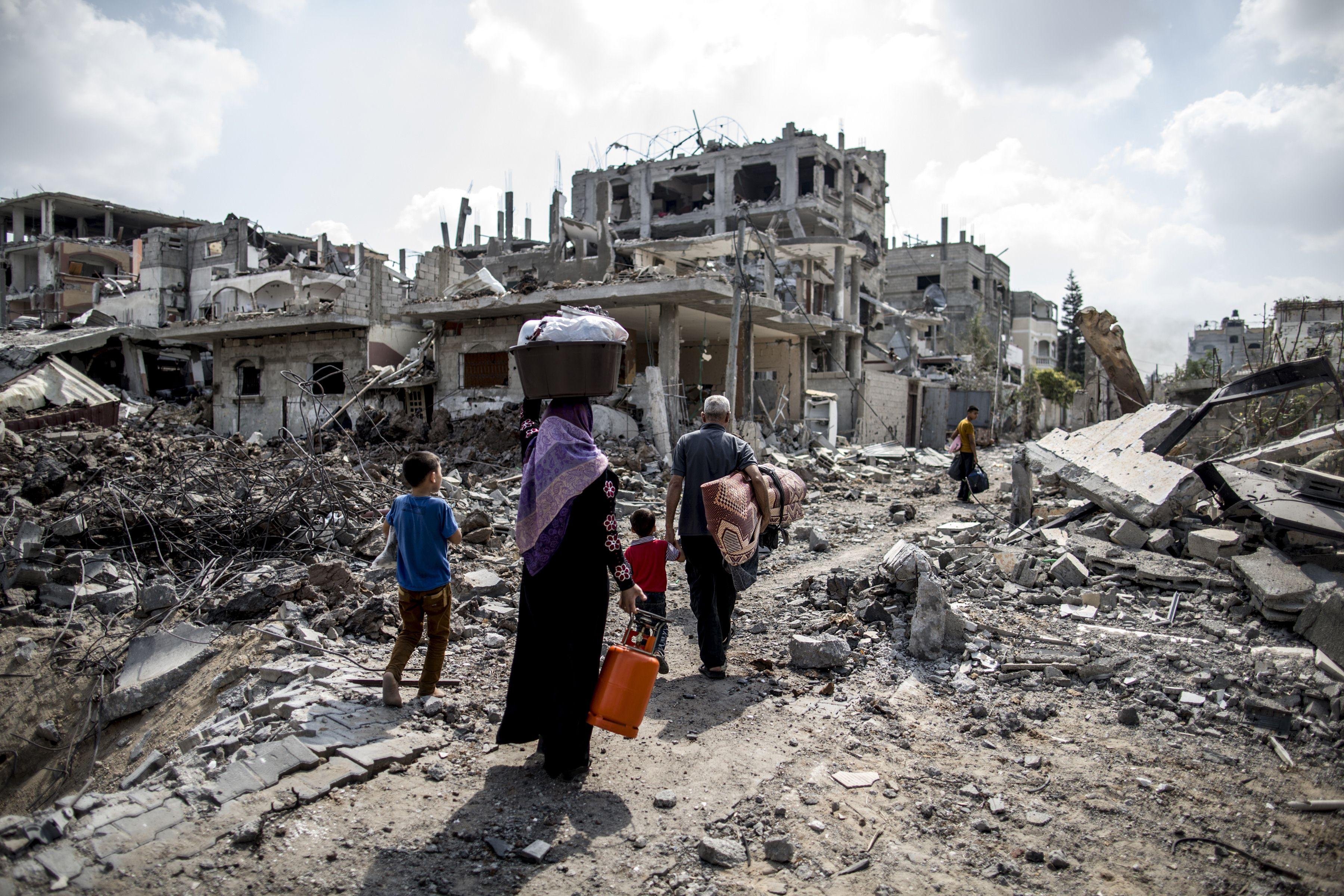 وكالة الرأي الفلسطينية - إقامة جبرية تفرضها حكومة الحمد الله على إعمار غزة