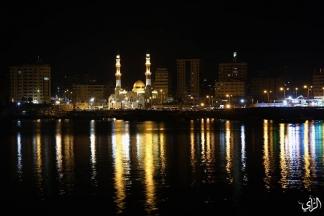 مسجد الحساينة الجديد في ميناء غزة تصوير : عطية درويش