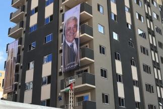 افتتاح برج الظافر 4 بغزة بحضور حكومة الوفاق