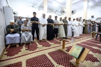 إحياء ليلة القدر في مسجد الجمعية الاسلامية بمخيم النصيرات بغزة تصوير: عطية درويش