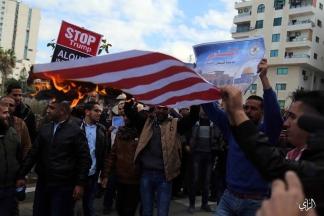 مؤتمر صحفي لحركة الجهاد الإسلامي حول قضية القدس عاصمة فلسطين الأبدية. تصوير: علاء السراج.