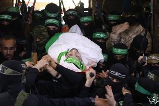 مراسم تشييع جثمان الشهيد مازن فقهاء