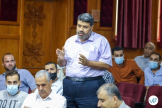 سلطة المياة تنظم يوماً دراسياً بمناسبة يوم البيئة العربي 2021 ... تصوير | يوسف الخطيب