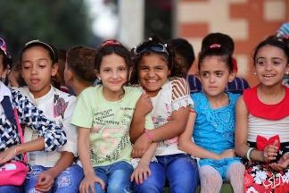 ضحكات ولعب الصغار في ثاني أيام عيد الفطر - تصوير/ عطية درويش
