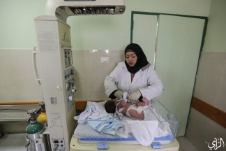 المرأة الفلسطينية والـ