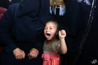 صور من وداع الشهيد فادي النجار والذي ارتقى أمس برصاص قوات الاحتلال في خانيونس جنوب قطاع غزة. تصوير: عطية درويش